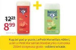 Żel LePetit Marseillais 250ml gratis do żelu 400ml