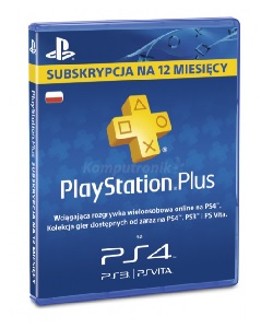 Komputronik - PlayStation Plus 365dni