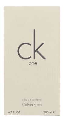 Calvin Klein One 200 ml